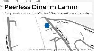 peerless dine im lamm carl schwenk straße in heidenheim