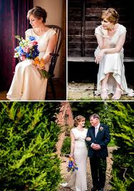 Rustic Backyard Wedding With Bride In Elegant Rapsimo Dress And Groom Wool Suit Bowtie