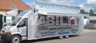 Kebab Mobile Catering Trailer Food Truck