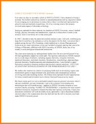 6 Statement Of Purpose Template Letter Intent Graduate School New