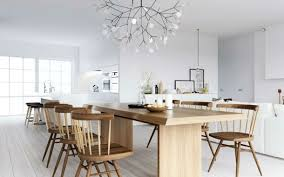 equipe de cuisine decoration de cuisine en bois awesome cuisine avec lgante