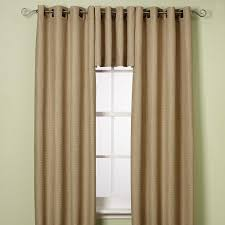 Bed Bath And Beyond Grommet Blackout Curtains by Amazon Com Reina 63 Inch Grommet Window Panel In Sand Kitchen
