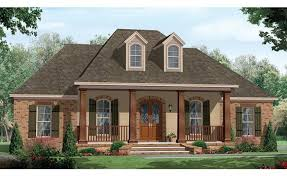Photo 1 Of 10 One Story House Plans With Porch In The City Front Designs Single Homes