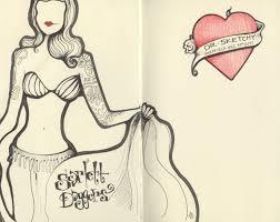Bathtub Gin Burlesque Tuesday by Andrea Joseph U0027s Sketchblog December 2011