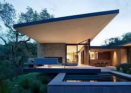 104 Aidlin Darling Design Winged Retreat In Carmel Valley California By