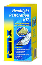 Rain Oil Lamp Cleaning by Amazon Com Rain X 800001809 Headlight Restoration Kit Automotive