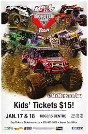 100 Biggest Monster Truck Moms Are Cool Too Maple Leaf Jam Tour Toronto Giveaway