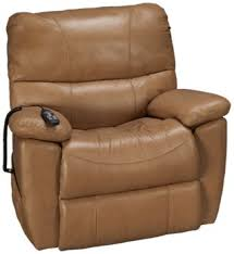 Synergy Crawford Synergy Crawford Leather Power Lift Recliner