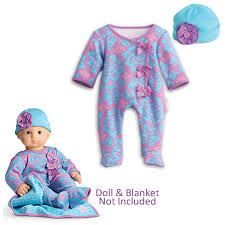 Amazoncom American Girl Bitty Baby Fresh Blooms Set Sleeper