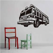 Cartoon Fire Truck Wall Stickers Nursery Removable Vinyl Adhesive 3D ... Designs Whole Wall Vinyl Decals Together With Room Classic Ford Pickup Truck Decal Sticker Reusable Cstruction Childrens Fabric Fathead Paw Patrol Chases Police 1800073 Garbage And Recycling Peel Stick Ecofrie Fire New John Deere Pink Giant Hires Amazoncom Cool Cars Trucks Road Straight Curved Dump Vehicles Walmartcom Monster Jam Tvs Toy Box Firefighter Grim Reaper Version 104 Car Window