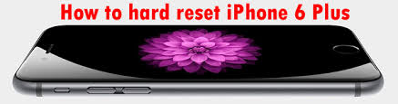 How to hard reset Apple iPhone 6 Plus to Factory Settings