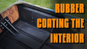 Jon Boat Mods: Rubber Coating The Interior - YouTube Truck Bed Liner To Replace Carpet Bushcraft Usa Forums Mat W Rough Country Logo For 52018 Ford F150 Pickups Spray In Bedliners Venganza Sound Systems How To Remove Bedliner Overspray 55ft Tonneau Accsories Bed Liner Paint Job Motorcycles Dualliner System Fits 2011 2016 F250 And F Bedliner Wikipedia Diy By Duplicolour Youtube Rustoleum Automotive 15 Oz Professional Grade Black Topline 7466375817 Rubber Trunk Liners Rvnet Open Roads Forum Campers Truck Mats