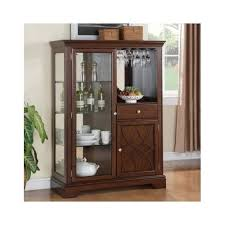 small storage cabinet for living room lighted display cabinet