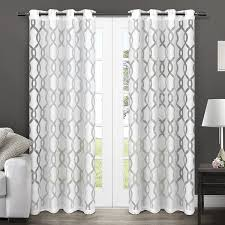 sheer curtains with grommets curtains ideas