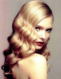 Finger Wave Vintage Hair