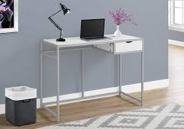 Small Computer Desk Walmart Canada by Monarch Specialties White Silver Computer Desk Walmart Canada