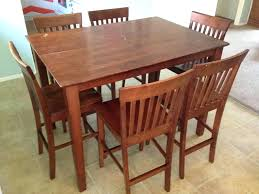 Chalk Painted Dining Room Tables Paint Table Makeover Set