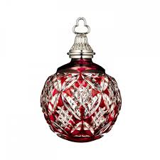 Waterford 2015 Annual Ornament Red Cased Ball EBay