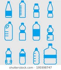 Vector Plastic Bottles Set