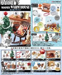 100 This Warm House MOOMIN WARM HOUSE Weather Warmth 8pcs Set PreOrder Gacha