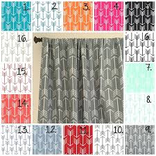 Mint Curtains For Nursery by Amazon Com Nursery Curtain Panels Arrow Curtain Panels Black And
