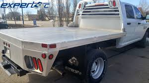 100 Flatbed Truck Bodies Just Finished Installing And Delivering This Aluminum Flat