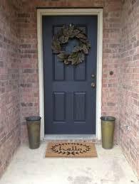 Porch Paint Colors Benjamin Moore by Front Porch Reveal New Door Color Benjamin Moore Wrought Iron