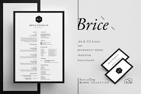 Resume/CV - Brice ~ Resume Templates ~ Creative Market Professional Cv Templates For 2019 Edit Download Font Pair Cinzel Quattrocento Donna Mae Dubray Font Size Of Resume Tacusotechco These Are The Best Fonts For Your Resume In Cultivated Culture Resumecv Brice Creative Market 20 Best And Worst Fonts To Use On Your Learn Whats The Or Design Shack Top Free Good Rumes Awesome A What Size Typeface Use 15 Pro Tips Cover Letter Header Fiustk Philipkome Is Format Infographic