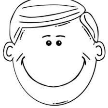 Boy Face Coloring Pages Google Twit