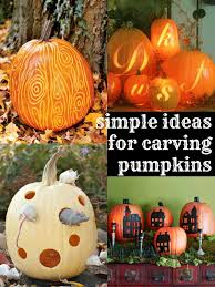 Drilled Jack O Lantern Patterns by Beyond Jack O Lanterns 6 Simple Pumpkin Carving Ideas Simple