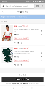 SHEIN - Sportswear: Buy 1 And Get Other @ 99% Off | DesiDime Shein India Deal Get Extra Upto Rs1599 Off At Coupons For Shein Android Apk Download Pin By Offersathome On Apparel Woolen Clothes Party Wear Drses Shein India Onleshein Promo Code Offers Deals May Australia 10 Coupon Enjoy Flat Discount On All Orders 30 Over 169 Shop Flsale Use The Code With This Summer Sale Noon Extra 20 Off G1 August 2019 Ounass 85 15 Uae Codes Shopping Aug 2526