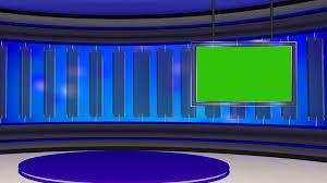 News TV Studio Set 22