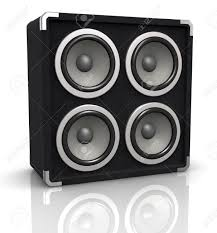 100 Speaker Boxes For Trucks One Concerto Audio Box 3d Render Stock Photo Picture And