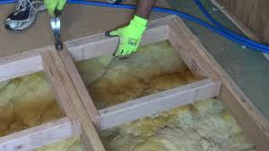Stop Squeaky Floors From Above by How To Repair Or Replace A Damaged Section Of Sub Floor Youtube