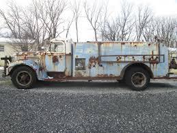 1947-48 INTL INTERNATIONAL Kb-8 Hale Equip Fire Pumper Part Truck ...