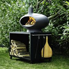 four a pizza exterieur outdoor oven forno pizza table jardinchic