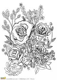 Our Final Coloring Pages For Adults Is A Flower Design Based On Roses We Have