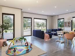 offenes wohnzimmer modern mit essbereich haus