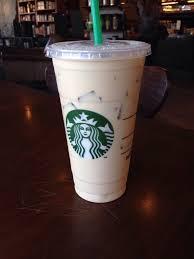 Vanilla Iced Coffee Grande In A Venti Cup Extra Breve Ice