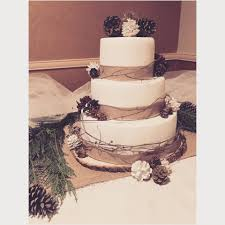 She Had A Rustic Winter Themed Wedding