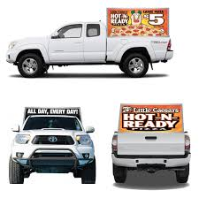 Pickup Truck Billboard Tooper | Outdoor Mobile Billboards