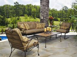Meadowcraft Patio Furniture Cushions by Outdoor Furniture Madison Wrought Iron Huntsville