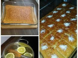 türkischer grieß kuchen revani blitzschnell