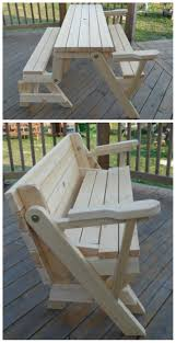 100 Printable Images Of Wooden Folding Chairs Transformer Bench Picnic Table Built By YoungWoo In The Kreg