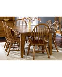 Liberty Furniture Industries Treasures 7 Piece Bow Back Windsor Extension Dining Set