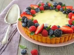 dessert aux fruits rapide recette dessert rapide tarte façon cheesecake aux fruits rouges