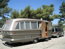 1960s Geographic Travel Trailer