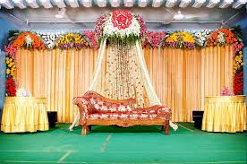 Pictures Wedding Reception Stage Design On Indian Background Decoration Ideas Backdrop Draping Event Decorationswall