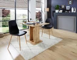 schwarzen esszimmer stuhl in lederoptik kaufen