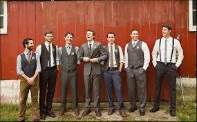 ThanksHelp With Creative Grooms Men Attire Wedding Groomsmen Suit Tux Farm Praire 11 Awesome Pin